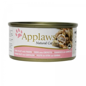 Applaws-Cat-Dose-Thunfischfilet--Garnelen-156g